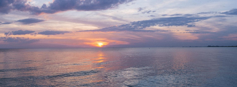 NEW PORT TAMPA BAY Ocean Stock Image